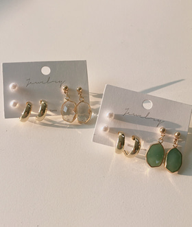 [당일출고] june earring set